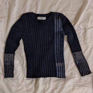 Toddler Boys Ribbed Special Occasion Sweater